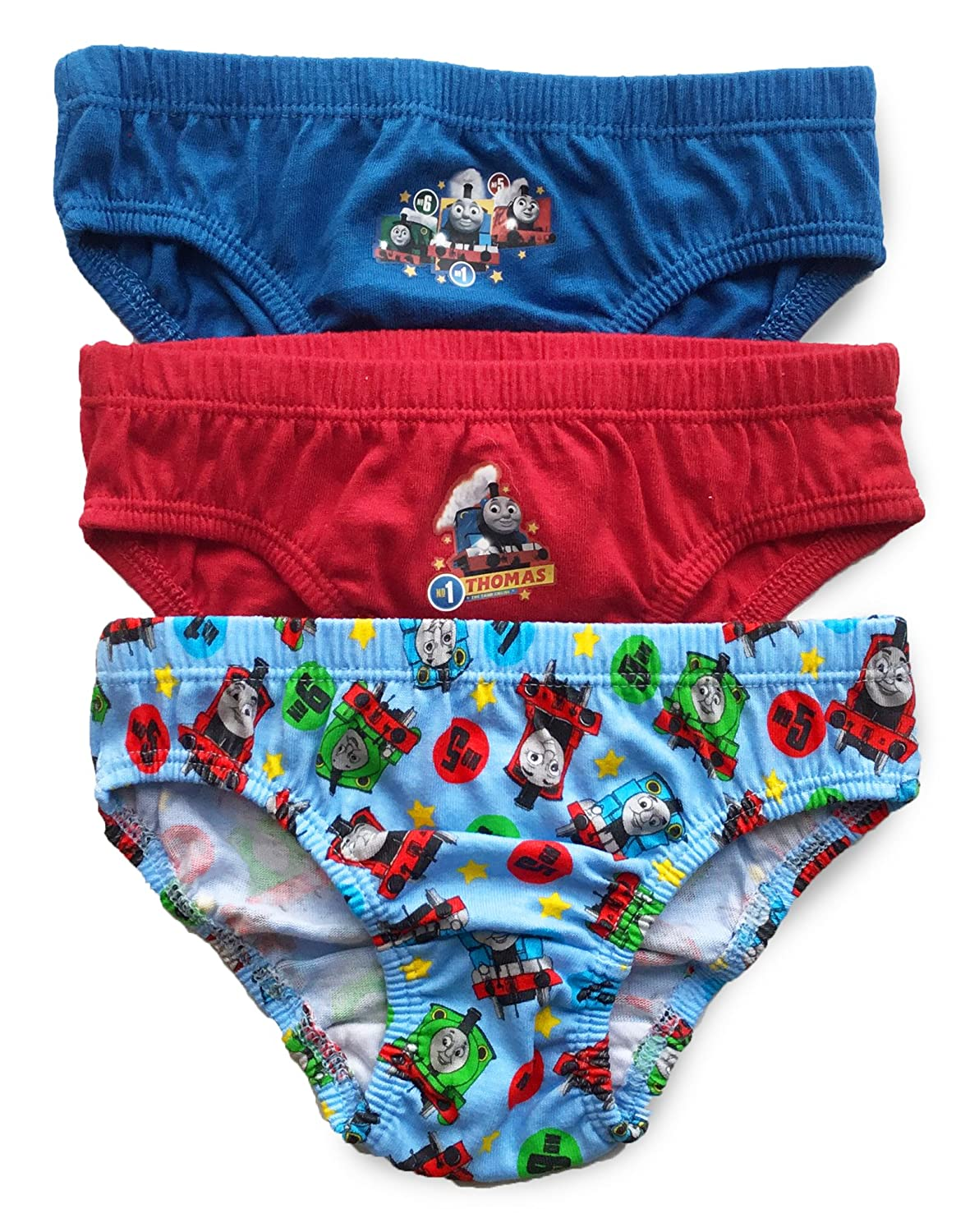 Boys Thomas & Friends - Briefs Pants Underpants Underwear Slips - 3 Pack - Official Licenced 100% Cotton