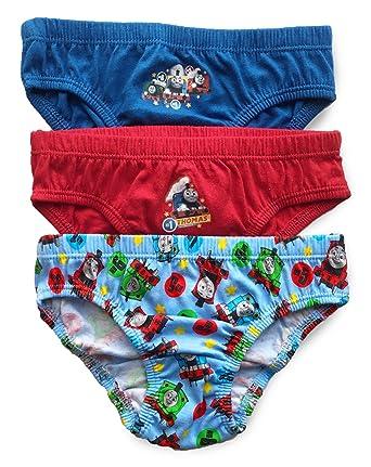 dfc775b500 Thomas   Friends Boys Thomas Pants Briefs Slips Underwear Cotton - Pack of  3 (2-3 Years