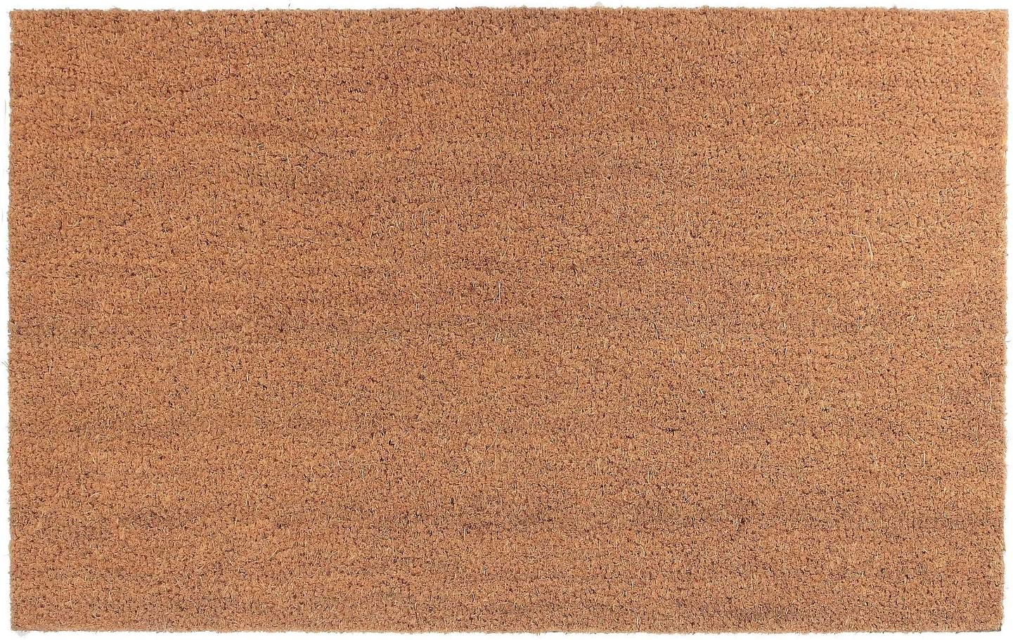 Plain Coir Doormat 18 x 30
