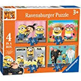 Ravensburger Despicable Me 3, 4 in a box (12, 16, 20, 24pc) Jigsaw Puzzles - DM3