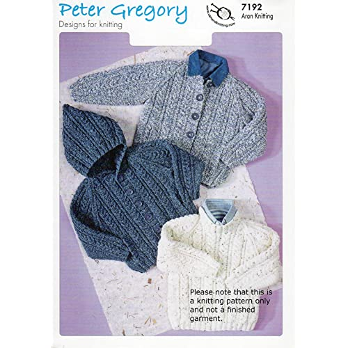 Aran Knitting Patterns For Children Amazon