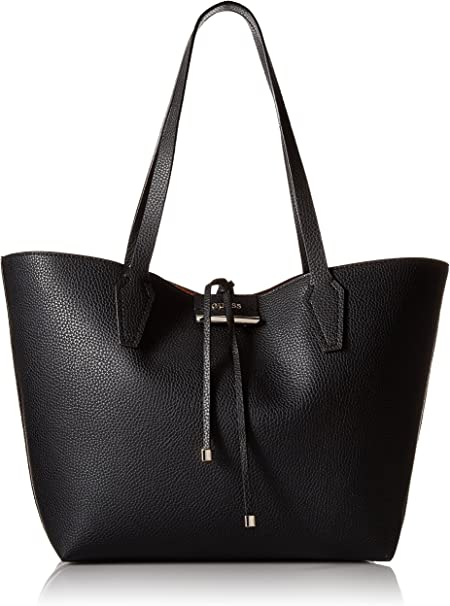 GUESS Bobbi Pebbled Inside Out Reversible Tote