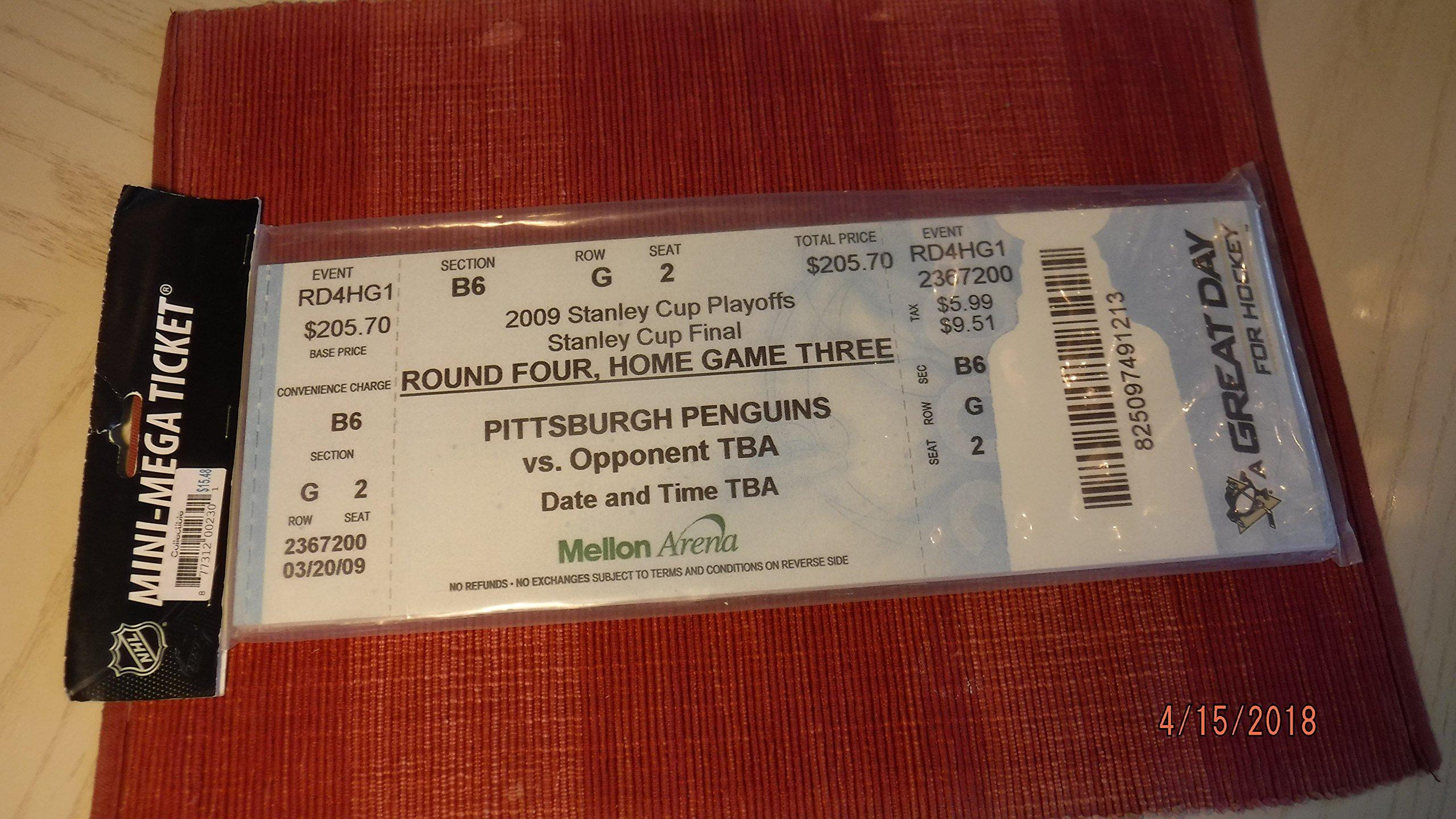 "PITTSBURGH PENGUINS 14""x5"" Hockey Mega Ticket"