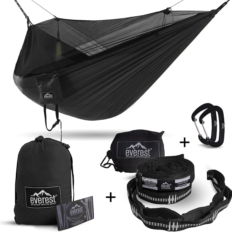Everest Hammock with Mosquito Net - best hammock bug net