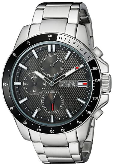 2cb253b65bc Buy Tommy Hilfiger Men s 1791165 Stainless Steel Watch Online at Low Prices  in India - Amazon.in
