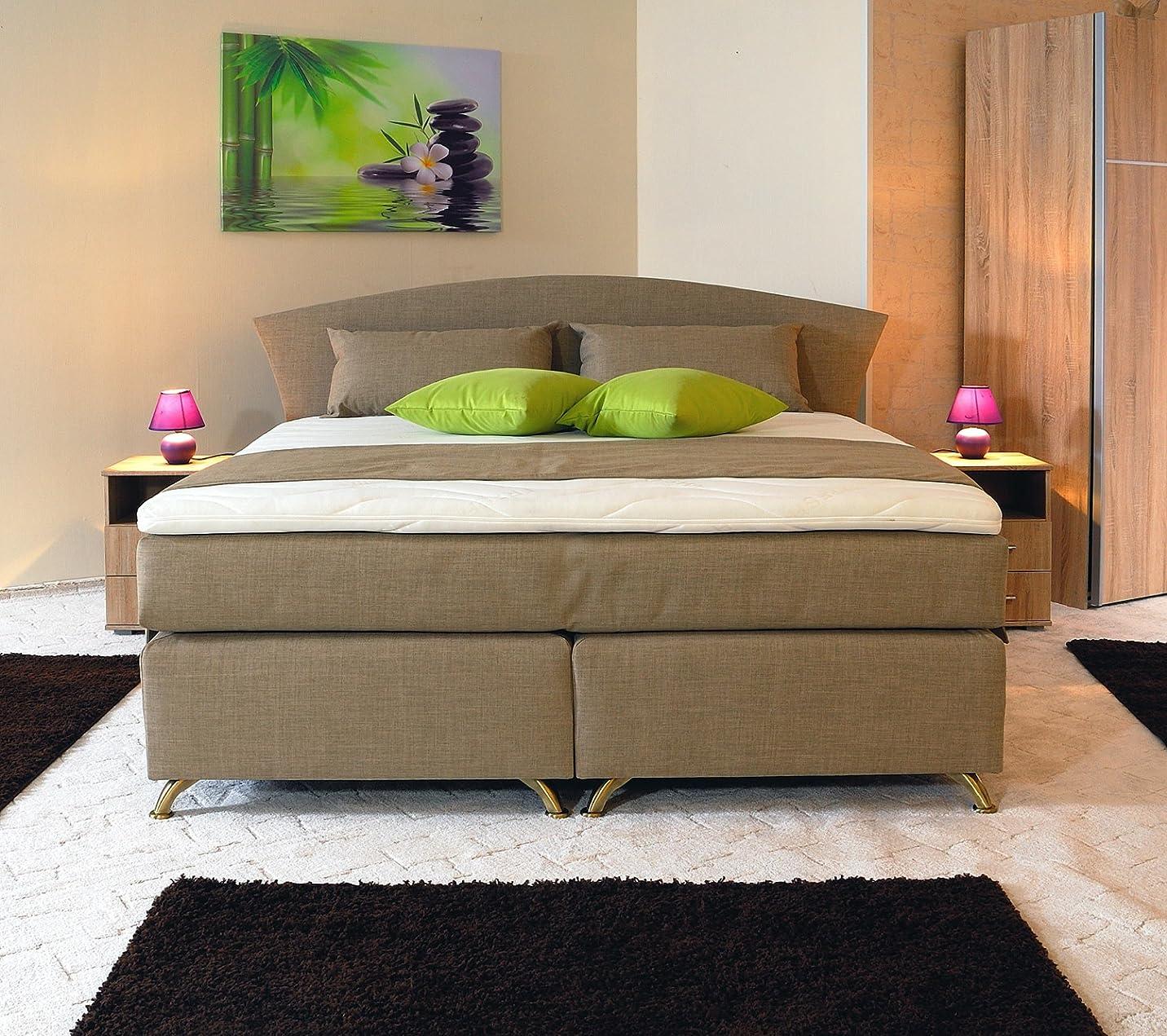 spenger bettenstudio boxspringbett quinn 120x200 cm unterfederung bonellfederkern 7 zonen. Black Bedroom Furniture Sets. Home Design Ideas
