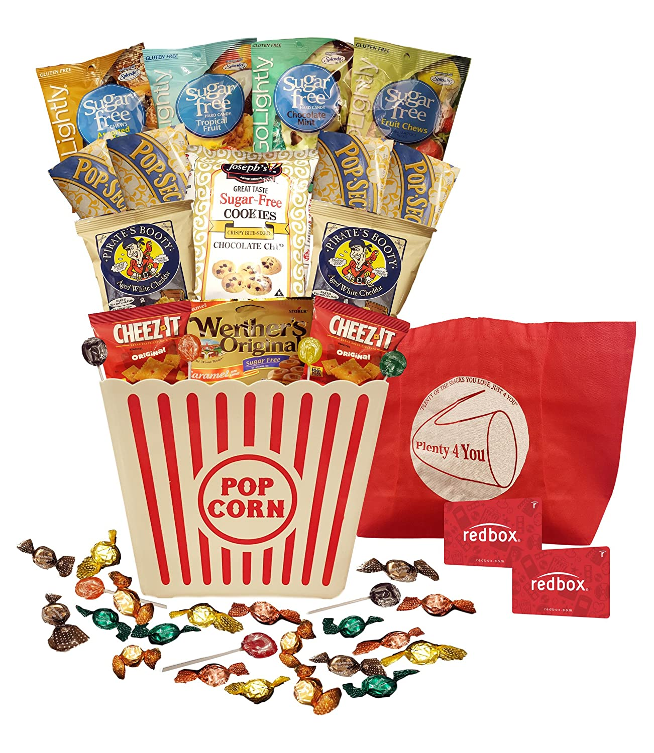 Amazon plenty 4 you ultimate sugar free guilt free movie amazon plenty 4 you ultimate sugar free guilt free movie night gift bucket grocery gourmet food negle Image collections