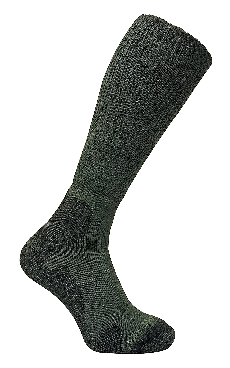 Dr Hunter - Mens Thick Extra Wide Loose Top Long Knee High Merino Wool Thermal Walking/Hiking Socks DHF