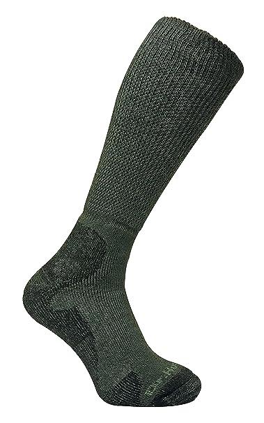 Dr Hunter - Hombre trekking senderismo altos lana verdes calcetines sin elasticos: Amazon.es: Ropa y accesorios