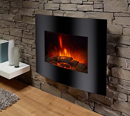 Chimenea eléctrica Aarau de El Fuego® Chimenea decorativa Chimenea AY 628