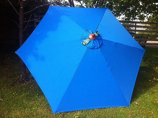 Amazon.de: firman sonnenschirm 3 m blau teleskopstange grosser