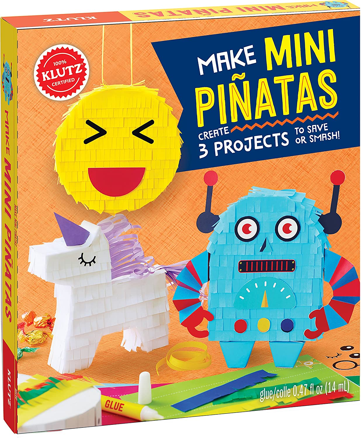 5 Activity Book; C Non-character; 9 L Non-fiction; Non Tie-in CHILD: Leisure CHILD: Non-Fiction 5+ JUVENILE General Techniques Crafts /& Hobbies Games /& Activities 7-9 years; 7 Klutz Make Mini Pi/ñatas Klutz Press SG/_133815883X/_US Art