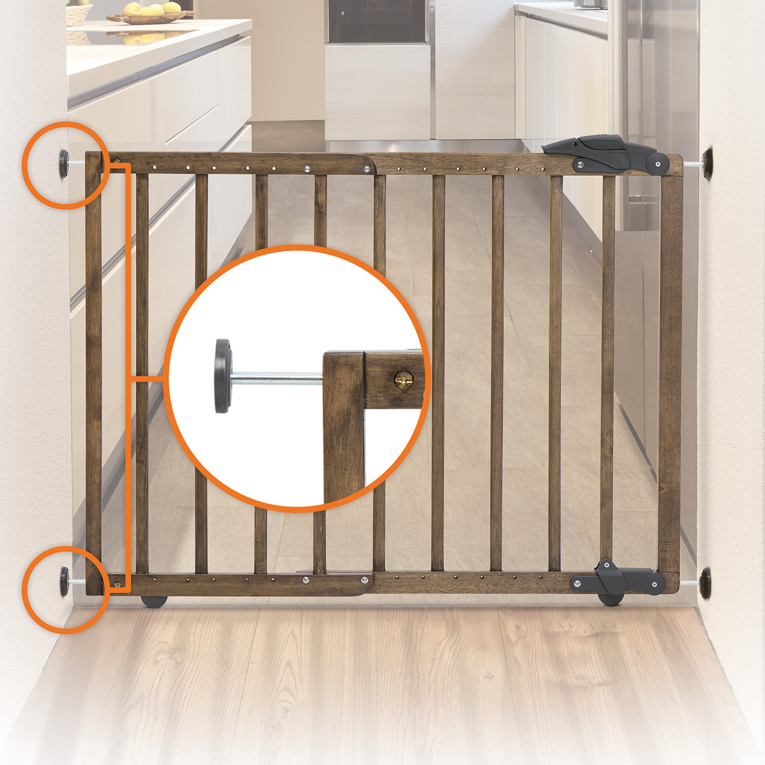 Dreambaby Nottingham 2 in 1 Gro-Gate by Dreambaby (Image #6)