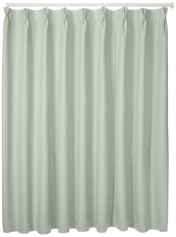 ブリーズ 1級遮光防炎遮熱カーテン 2枚入 巾150cmX丈135cm アイボリー B00B16YPBW 150X135|アイボリー アイボリー 150X135