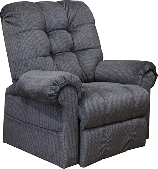 Catnapper Omni 4827 Power Full Lay Out Large Heavy Duty Lift Chair Recliner 450 lb Capacity Ink Fabric with in Home Delivery and Setup