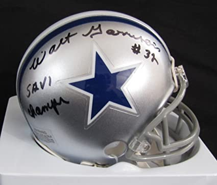 aa1670c8377 Walt Garrison Dallas Cowboys Autographed Mini Helmet With Super Bowl Champs  Inscription