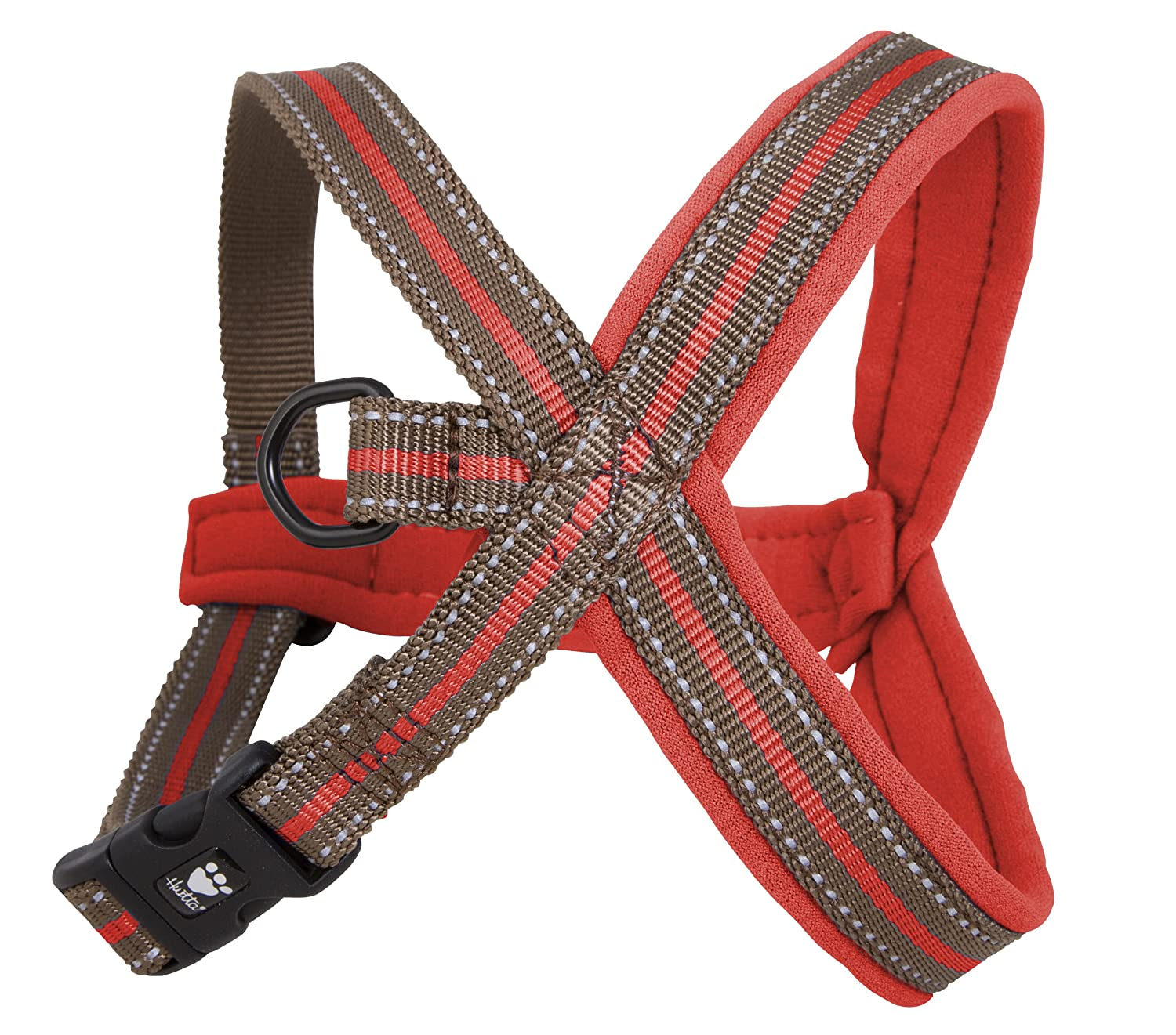 Hurtta Padded Y-Harness color Red Size 60cm