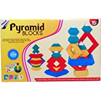 Playking Delux Edition Pyramid Blocks, Over 3000 Combination