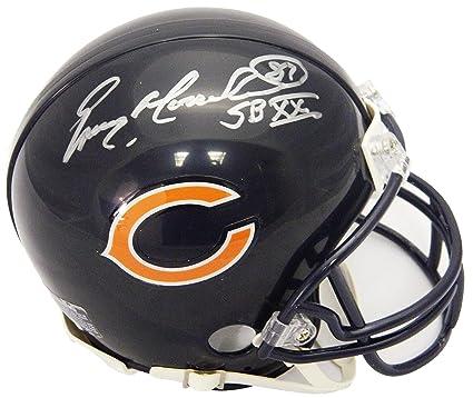 ad268680 Amazon.com: Emery Moorehead Signed Chicago Bears Riddell Mini Helmet ...