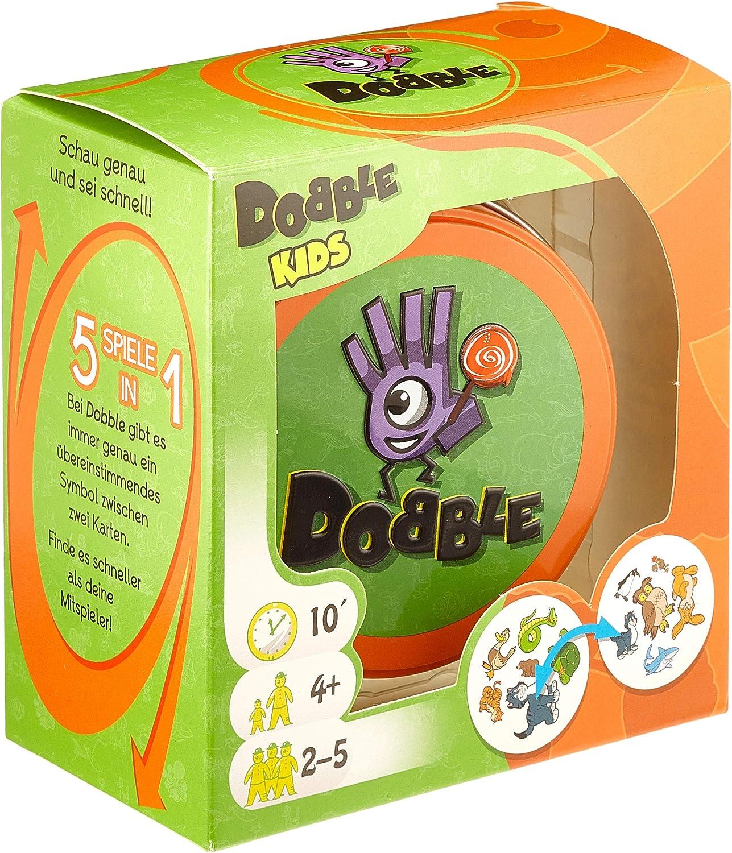 Asmodée - Dobble Kids (versión Alemana): Amazon.es: Juguetes y juegos