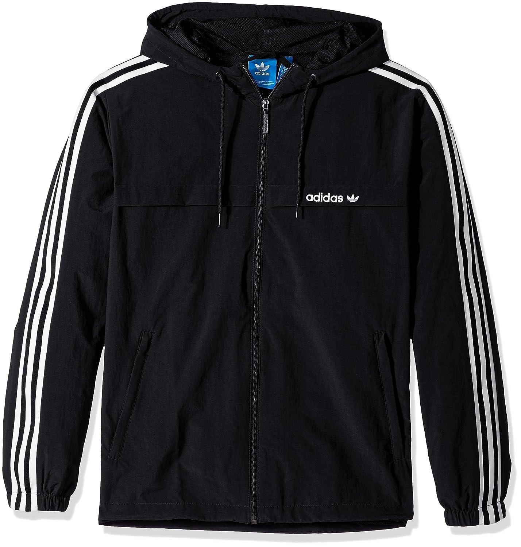 bd02967e1a81 adidas Originals Men s Outerwear 3 Stripe Windbreaker