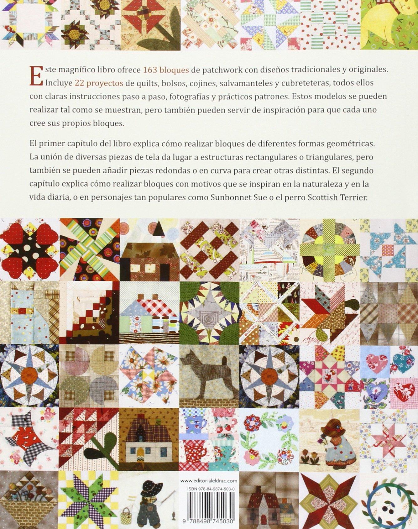 163 Bloques De Patchwork: Amazon.es: Laia Jordana Altés, Ana María ...