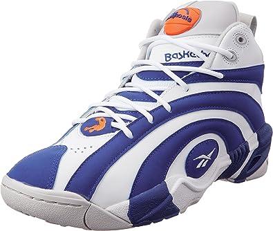Reebok Classic Bomba Shaqnosis Azul Blanco Hombres Zapatillas de ...