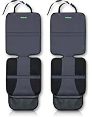Drive Auto Products Car Seat Protector (2-Pack) Ultimate Poly Fiber Backing is Best Protection for Child & Baby Cars Seats