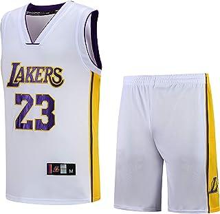 Basport Tuta da Basket Maschile James James NBA Lakers n. 23