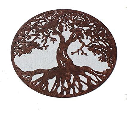 Say It All On The Wall Tree of Life Sign Metal Wall Art  sc 1 st  Amazon.com & Amazon.com: Say It All On The Wall Tree of Life Sign Metal Wall Art ...