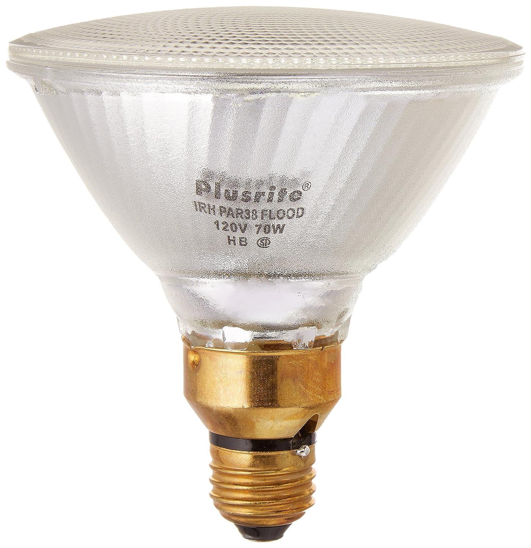 Plusrite 3523 03523 70PAR38 Irh FL 120 PAR38 Halogen Light Bulb