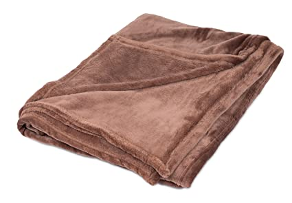 Wondrous Birdrock Home Internets Best Plush Throw Blankets Cafe Brown Ultra Soft Couch Blanket Light Weight Sofa Throw 100 Microfiber Polyester Gmtry Best Dining Table And Chair Ideas Images Gmtryco