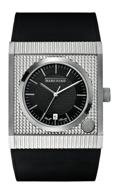 Marc Ecko Reloj Análogo clásico para Hombre de Cuarzo con Correa en Silicona E13522G1