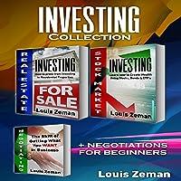 Real Estate Investing, Stock Market for Beginners Plus Bonus Negotiating book: 3...