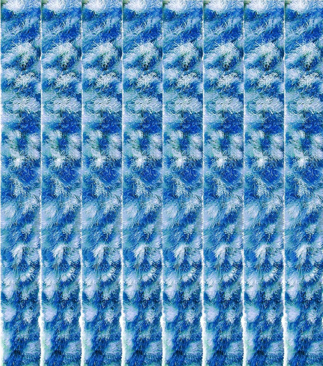 Arsvita Flausch-Vorhang, viele viele viele Variationen, Größe  140x200 cm, Farbe  hellgrau-weiß B013I3NNAO Vorhnge f42ac9