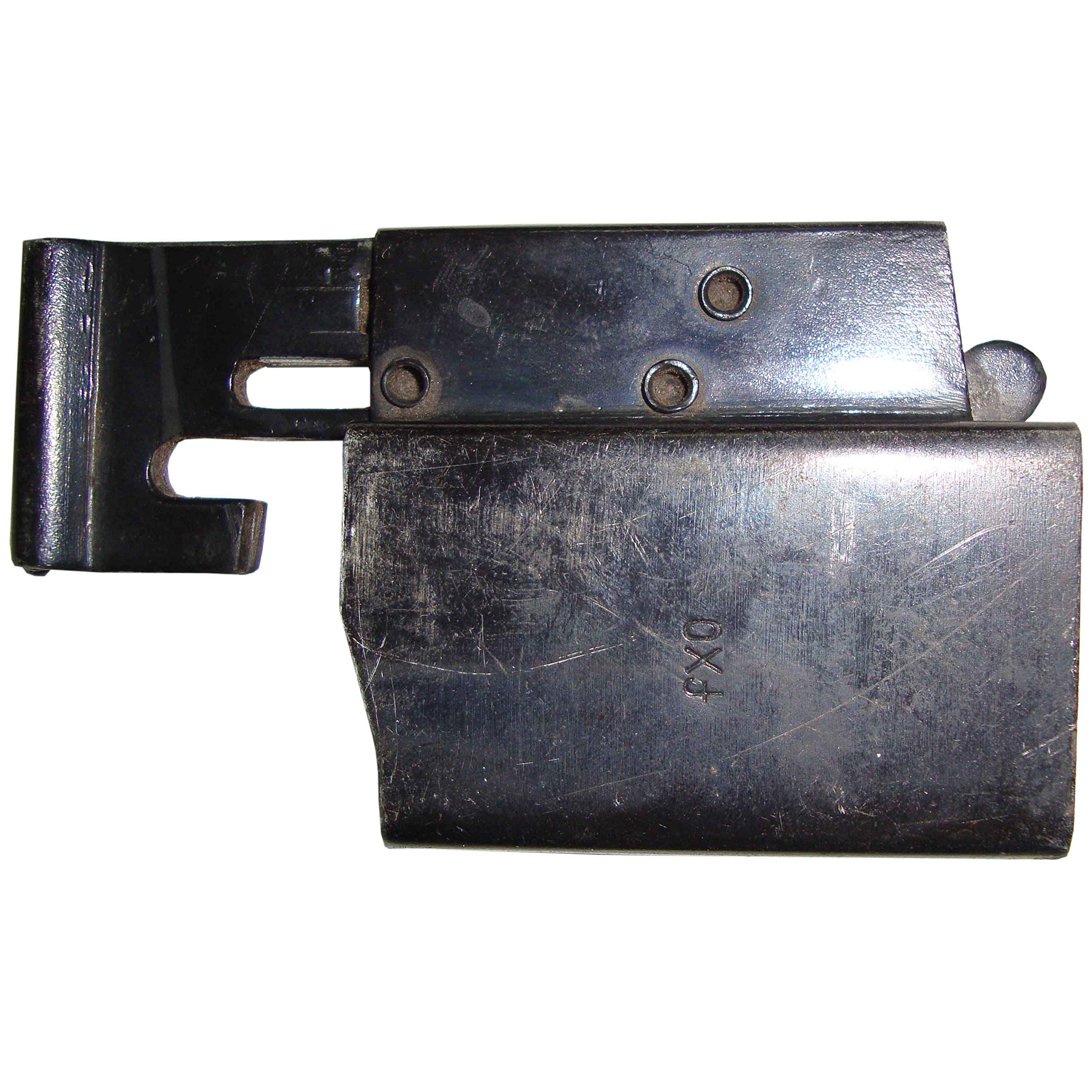 German WWII MP 40 SMG Magazine Loader Marked FXO