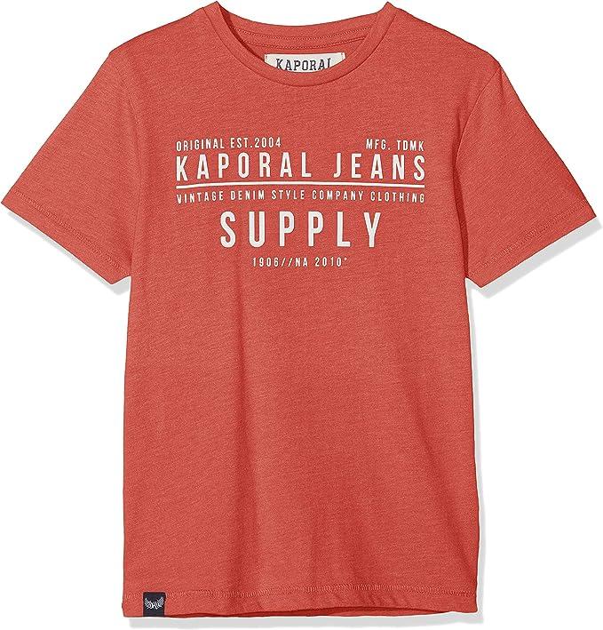 KAPORAL MUFF Camiseta, Rojo (BURMEL), 6 años para Niños: Amazon.es: Ropa y accesorios