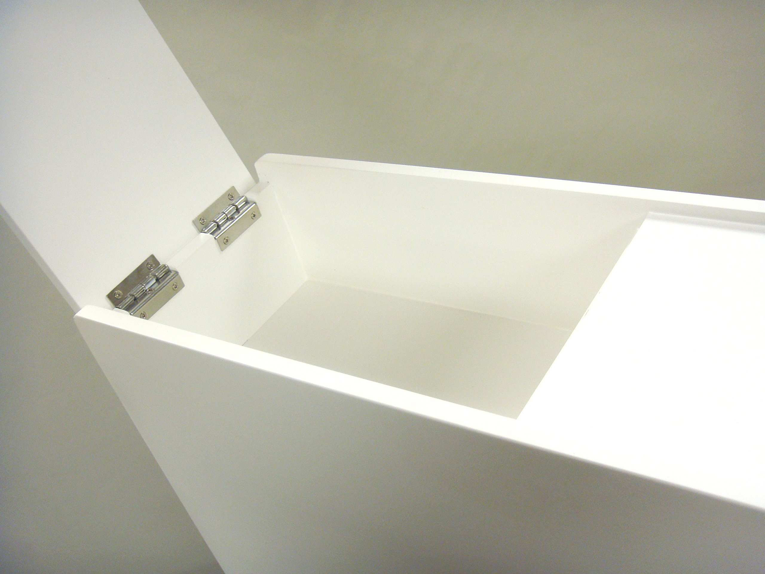 Proman Products Bathroom Floor Cabinet Wood in Pure White by Proman Products (Image #11)
