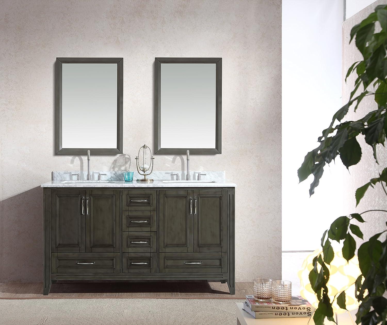 Sets bathroom vanity ari kitchen second - Hot Sale 2017 Ari Kitchen And Bath Jude 60 In Double Bathroom Vanity Set
