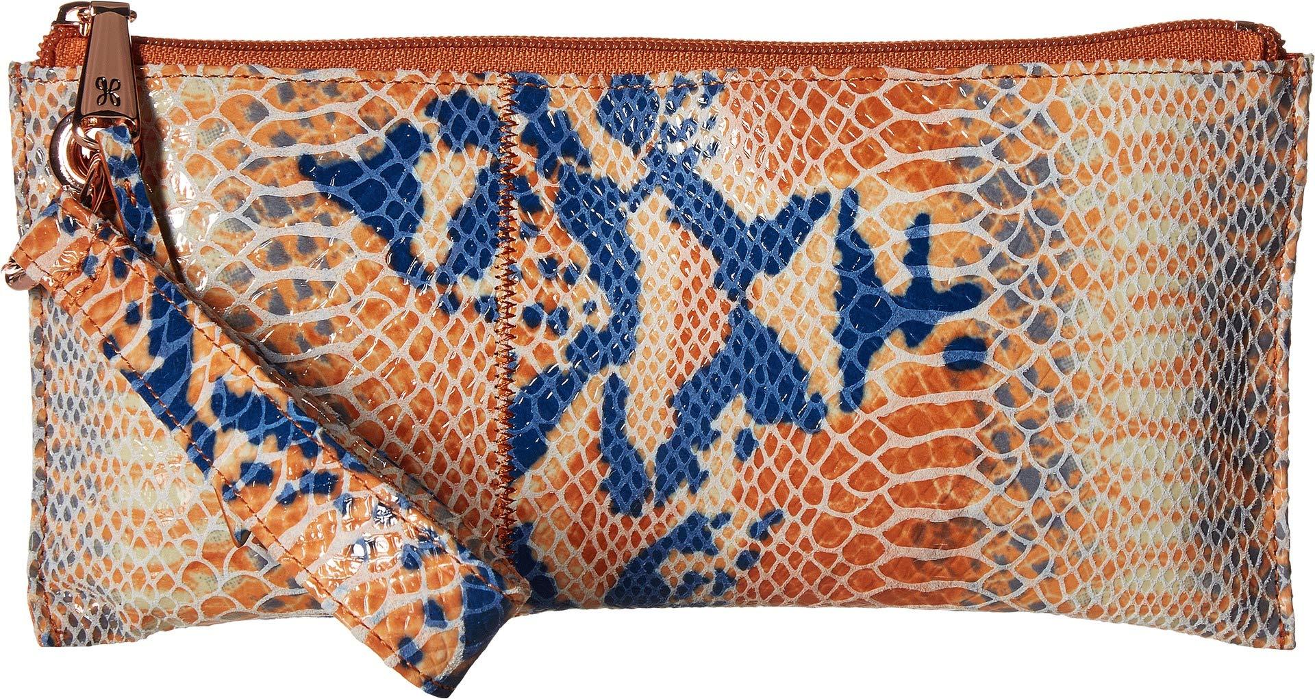 Hobo Womens Leather Vintage Vida Clutch Wallet (Adobe Snake)
