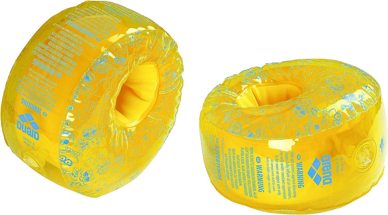 Arena Manguitos infantiles, talla única, color amarillo y azul