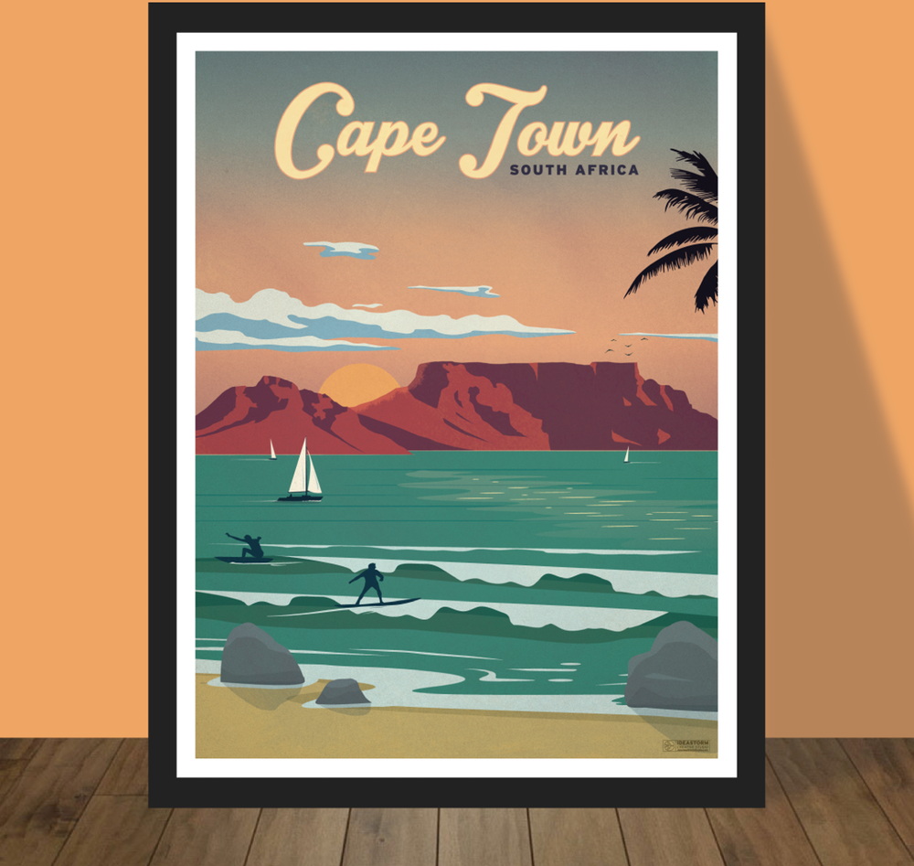 IdeaStorm Media Store — Vintage Cape Town Poster