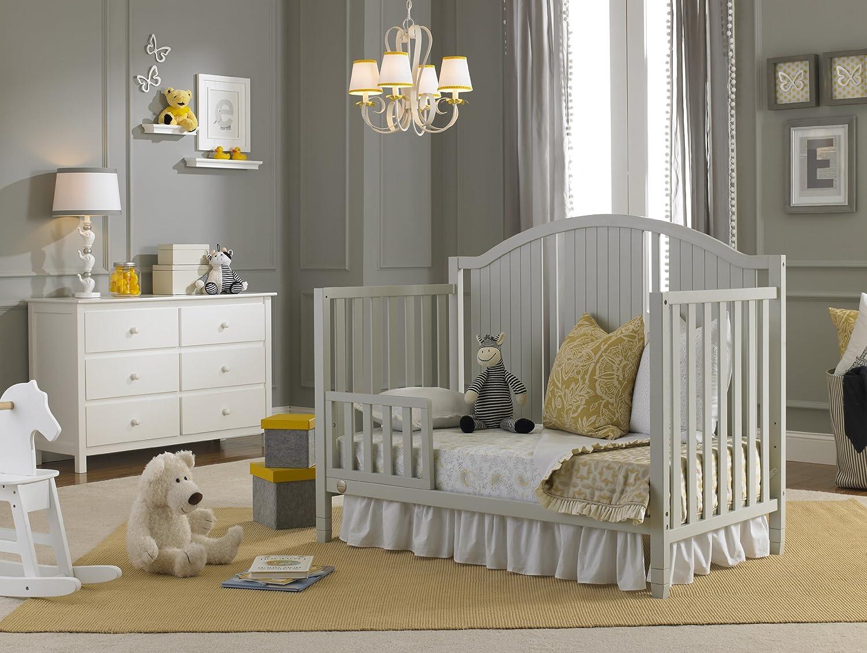 Amazon Fisher Price Toddler Guard Rail Misty Grey Baby