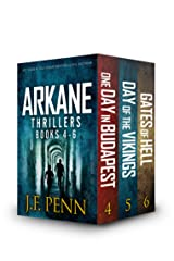 ARKANE Thriller Boxset 2: One Day in Budapest, Day of the Vikings, Gates of Hell (ARKANE Boxset) Kindle Edition