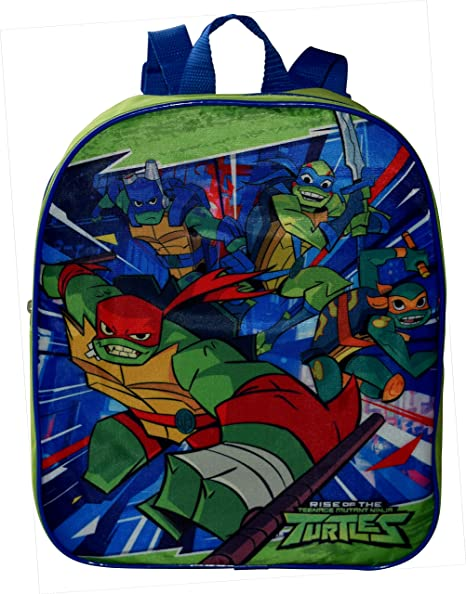 Amazon.com: Nickelodeon TMNT Ninja Turtles - Mochila pequeña ...