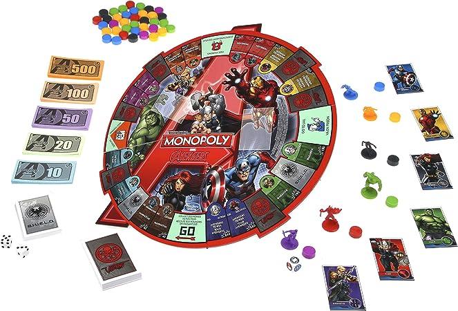 Marvel Avengers Monopoly Board Game: Amazon.es: Juguetes y juegos