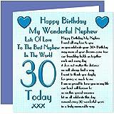 Nephew 30th Happy Birthday Card