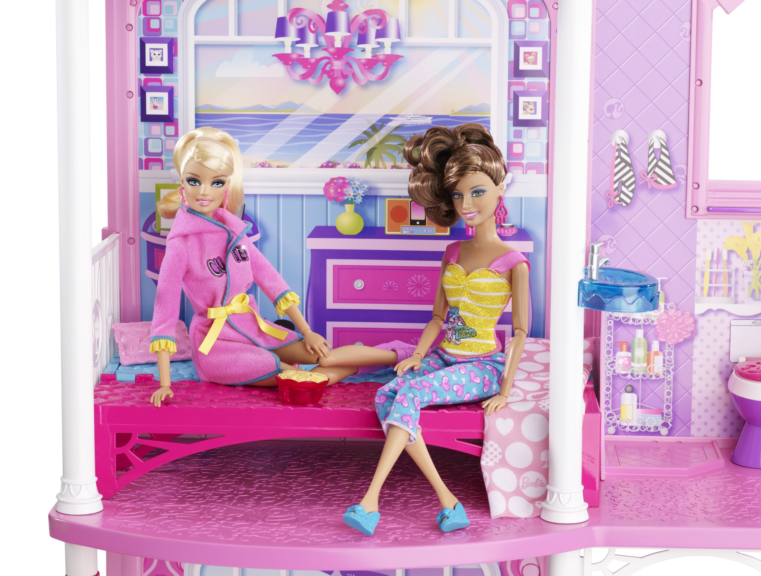 Barbie 2-Story Beach House by Barbie (Image #9)