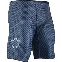 Onvous Men's AquaGenesis-Lite Swim Jammer | Racing & Training Swimsuit | Fast, Flexible, Comfortable | Sizes: 28-38