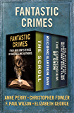 Fantastic Crimes: Four Bibliomysteries by Bestselling Authors